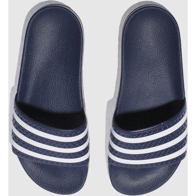 Adidas Navy Adilette Slide Sandals