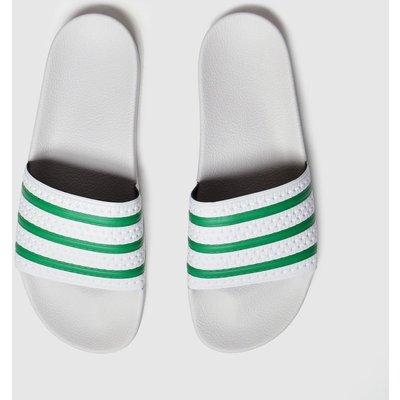 Adidas Grey Adilette Sandals
