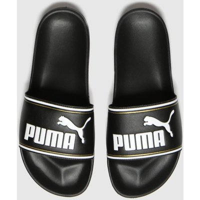 PUMA Black Leadcat Ftr Sandals