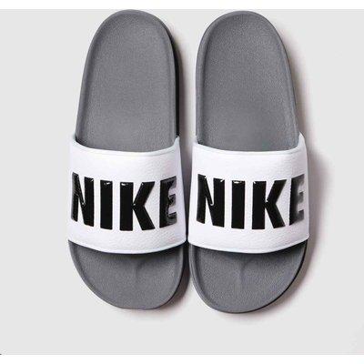 Nike Dark Grey Off Court Sandals