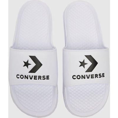Converse White All Star Slide Sandals