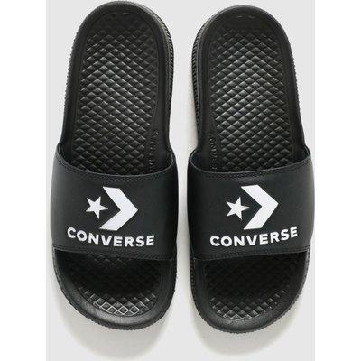 Converse Black All Star Slide Sandals