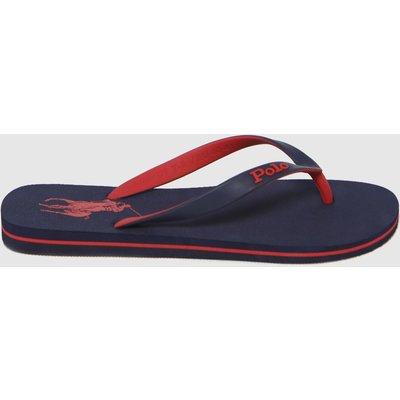 Polo Ralph Lauren Navy & Red Bolt Sandals