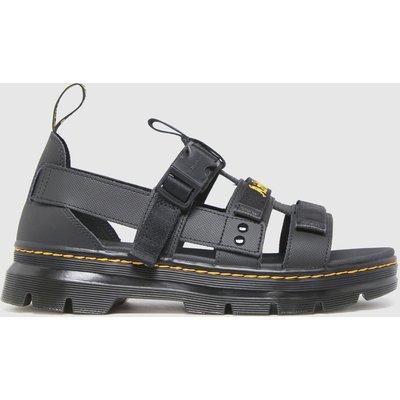 Dr Martens Black Pearson Sandals