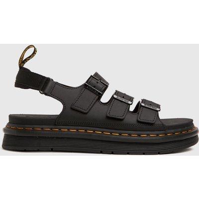 Dr Martens Black Soloman Sandals
