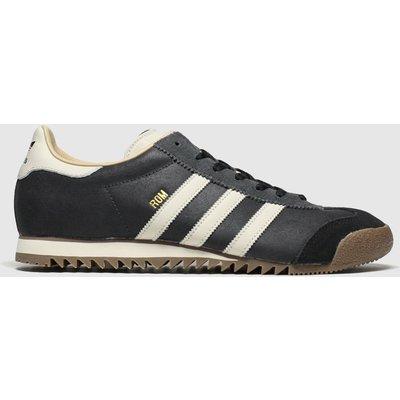 Adidas Stone & Black Rom Trainers