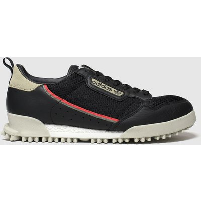 Adidas Black & Red Continental 80 Baar Trainers
