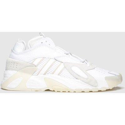 Adidas White Streetball Trainers