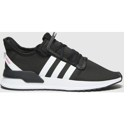 Adidas Black & White U_path Trainers