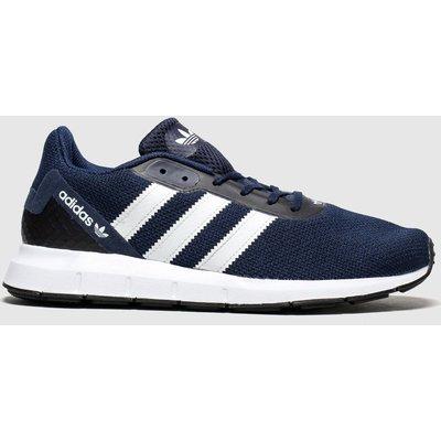 Adidas Navy & White Swift Run Rf Trainers