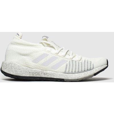 Adidas White & Black Pulseboost Trainers