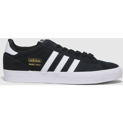 Adidas Black & White Basket Profi Lo Trainers
