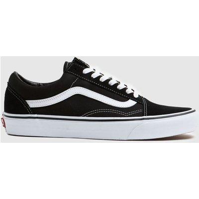 Vans Black & White Old Skool Trainers