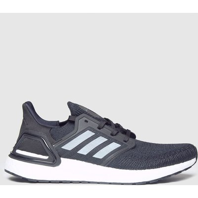 Adidas Black & White Ultraboost 20 Trainers