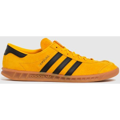 Adidas Yellow Hamburg Trainers