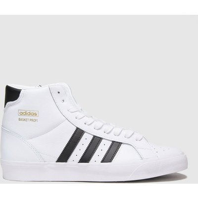 Adidas White Basket Profi Trainers