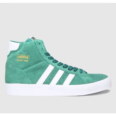 Adidas Green Basket Profi Trainers