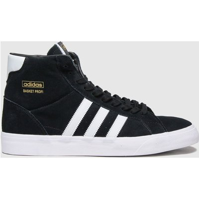 Adidas Black & White Basket Profi Trainers