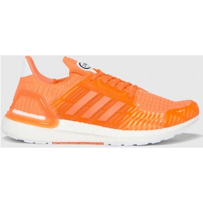 Adidas Orange Ultraboost Trainers