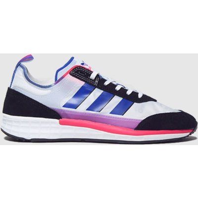 Adidas White & Black Sl 7200 Pride Trainers