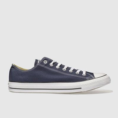 Converse Navy All Star Lo Trainers