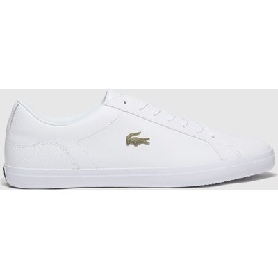 Lacoste White & Gold Lerond Trainers