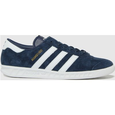 Adidas Navy Hamburg Trainers