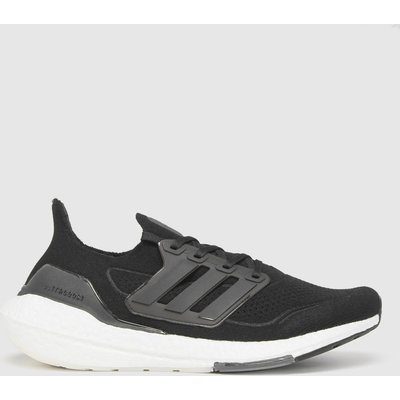 Adidas Black Ultra Boost 21 Trainers