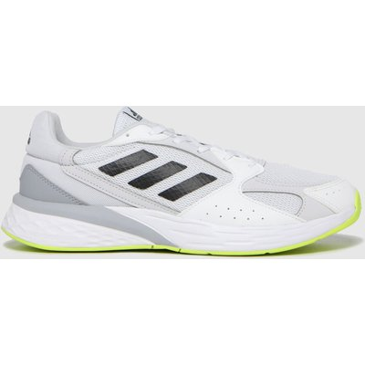 Adidas White Response Run Trainers