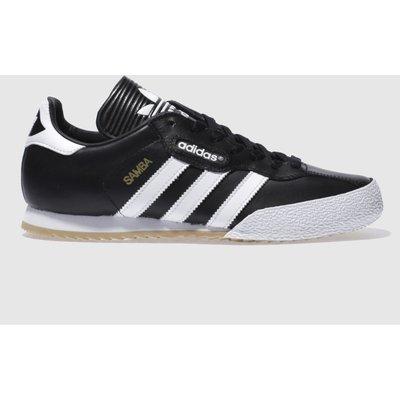 Adidas Black & White Samba Super Trainers
