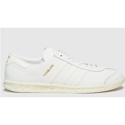 Adidas White Hamburg Trainers