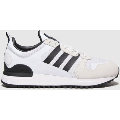 Adidas White Adi Zx 700 Hd Trainers