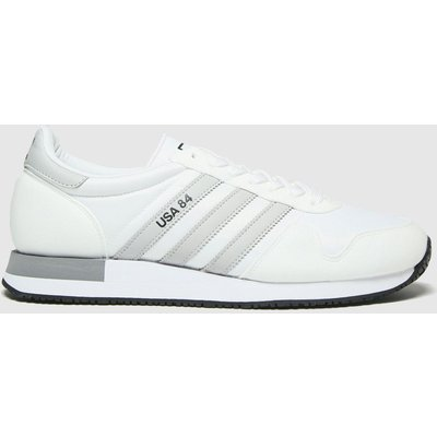 Adidas White Usa 84 Trainers