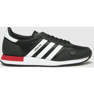 Adidas Black Adi Usa 84 Trainers