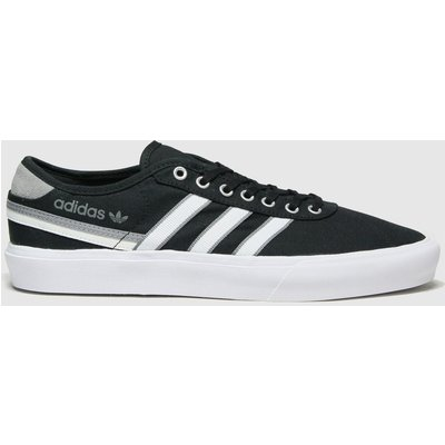 Adidas Black & Grey Delpala Trainers