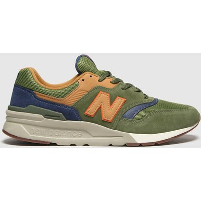 New Balance Khaki 997 Trainers