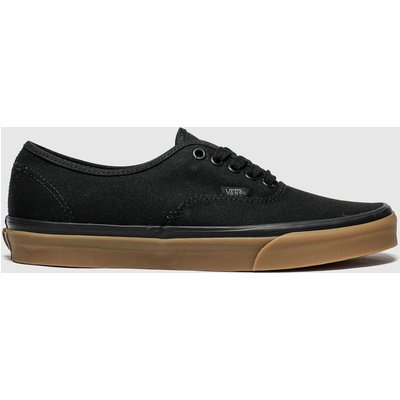 Vans Black & Brown Authentic Trainers