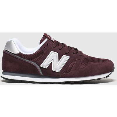 New Balance Burgundy 373 V2 Trainers