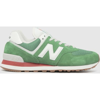 New Balance Green 574 Trainers
