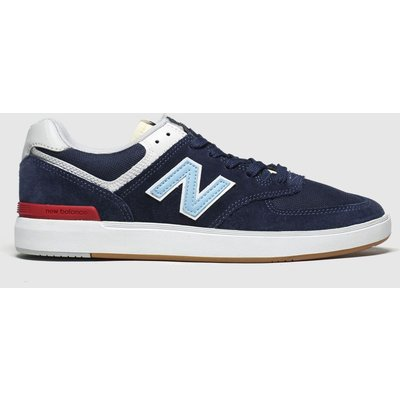 New Balance Navy & White All Coasts 574 Trainers