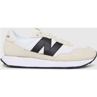 New Balance White 237 Trainers