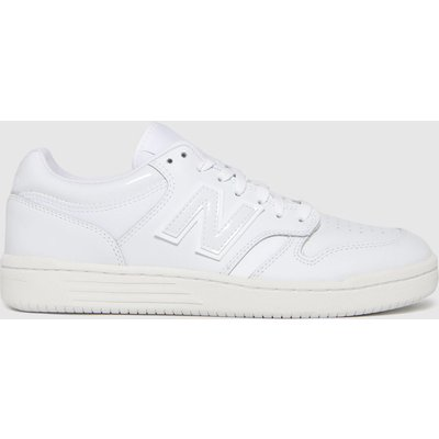 New Balance White Bb 480 Trainers