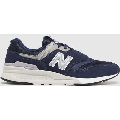 New Balance Navy 997 Trainers