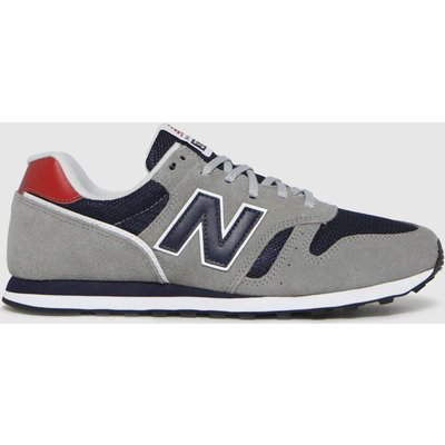 New Balance Light Grey 373 Trainers
