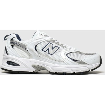 New Balance White 530 Trainers