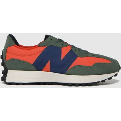 New Balance Orange 327 Trainers