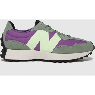 New Balance Green 327 Trainers