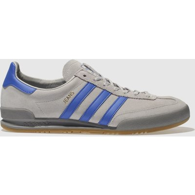 Adidas Light Grey Jeans Trainers