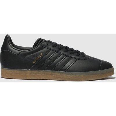 Adidas Black Gazelle Trainers