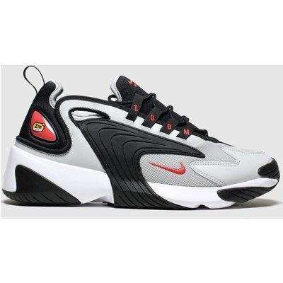 Nike White & Grey Zoom 2k Trainers